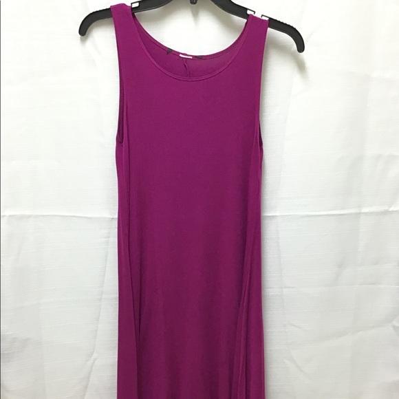 3/$15 Fuschia Tank A Line Dress, Rayon Material